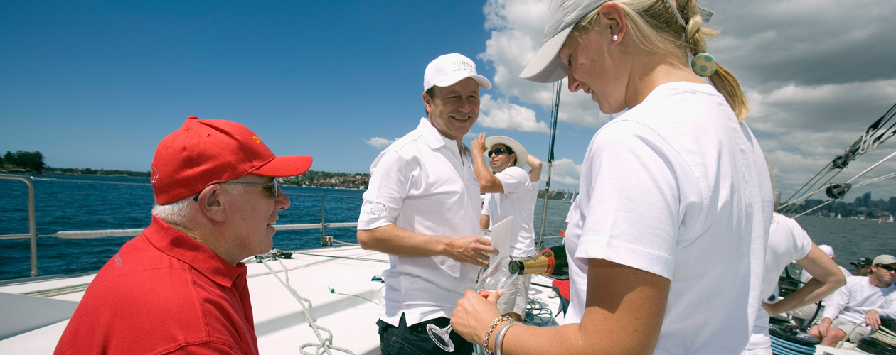Corporate Sailing Days - Itinerary
